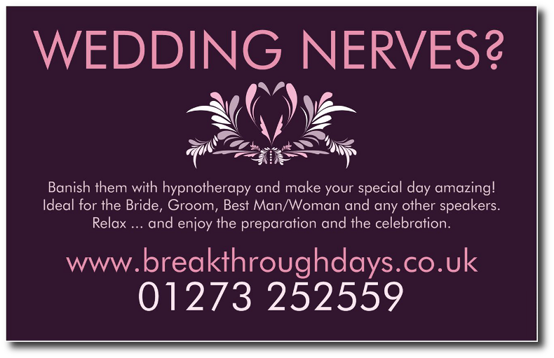Wedding Nerves Flyer